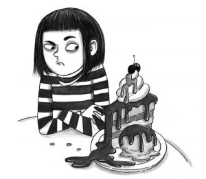 Bethany and yummy chocolate cake